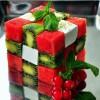 Rubik's Cube Dessert