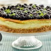 CHEESECAKE DE TÉ VERDE CON BLUEBERRIES