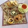 TORTITAS GALESAS CON AGRAZ (WELSH CAKES)