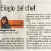 ELOGIO DEL CHEF