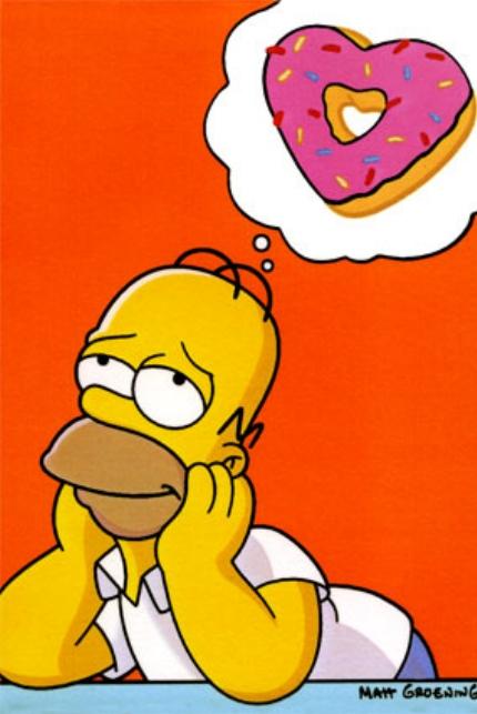 Resultado de imagen de homer donuts