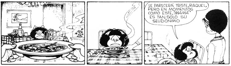 Image result for mafalda y la sopa