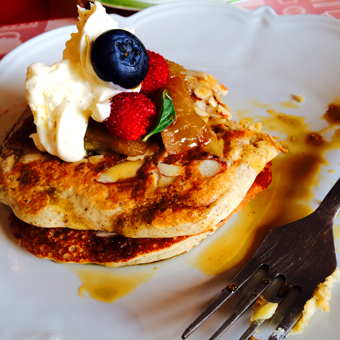 apple pancakes fruta