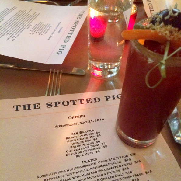SPOTTED PIG BLOODY