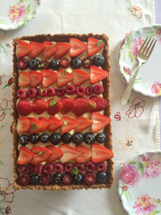 berries mascarpone