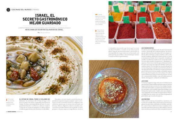 israel cocina semana